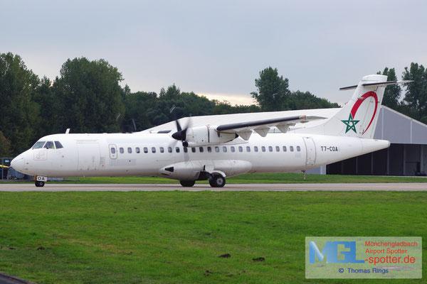 14.10.2013 T7-COA (Royal Air Maroc Express) ATR 72-202 cn441