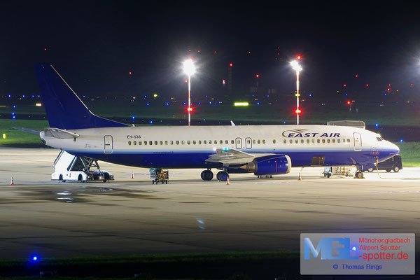 20.08.2014 EY-538 East Air B737-4Y0