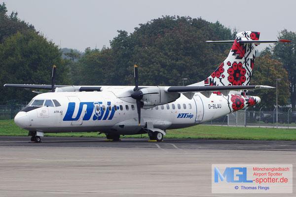 27.09.2014 D-BLAU RAS / UTair Ukraine ATR 42-300 cn068