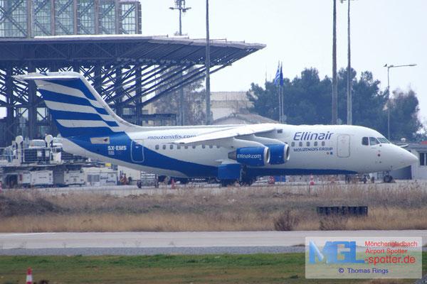12.02.2017 SX-EMS Ellinair BAe-146 Avro RJ85