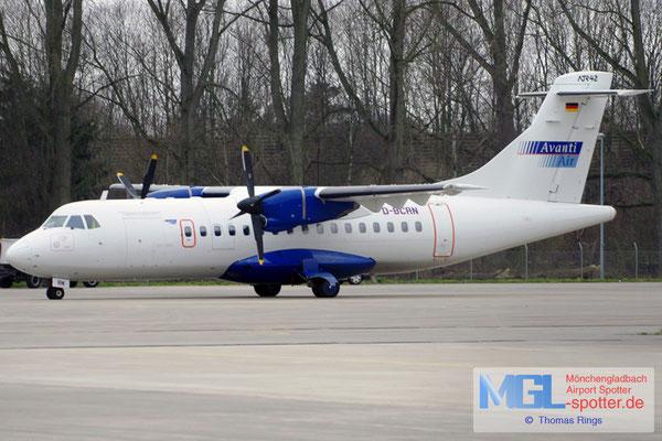 28.12.2011 D-BCRN Avanti Air ATR 42-300 cn329
