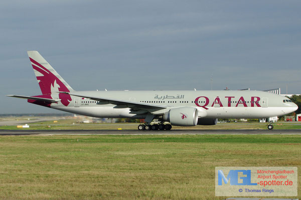 18.10.2012 A7-BBC Qatar Airways B777-2DZLR