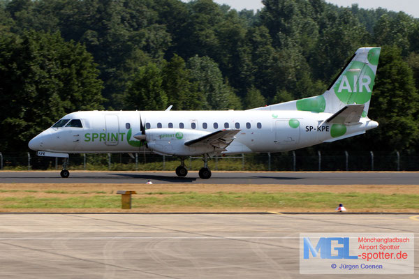 03.08.2018 SP-KPE Sprint Air Saab 340A