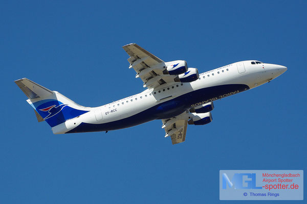 20.04.2013 OY-RCC Atlantic AIrways BAe-146 Avro RJ100