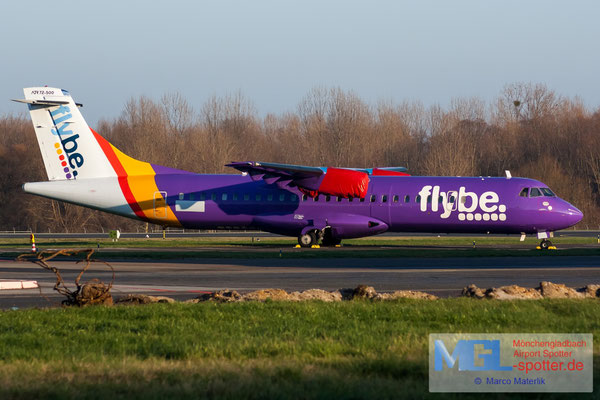 01.01.2020 (G-ISLI) Blue Islands / Flybe ATR 72-500 cn529