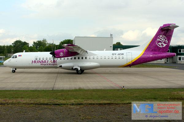 03.05.2017 OY-JZW Jettime / Hunnu Air ATR 72-500 cn773