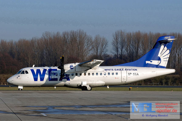 02.01.2004 SP-KCA White Eagle Aviation ATR 42-300 cn085
