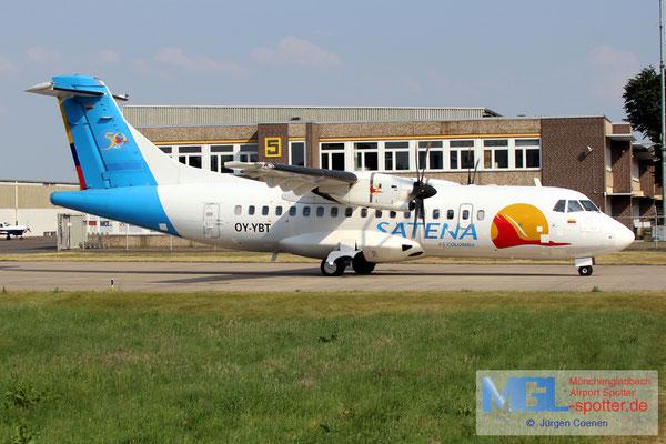 01.06.2017 OY-YBT NAC / Satena ATR 42-500 cn526