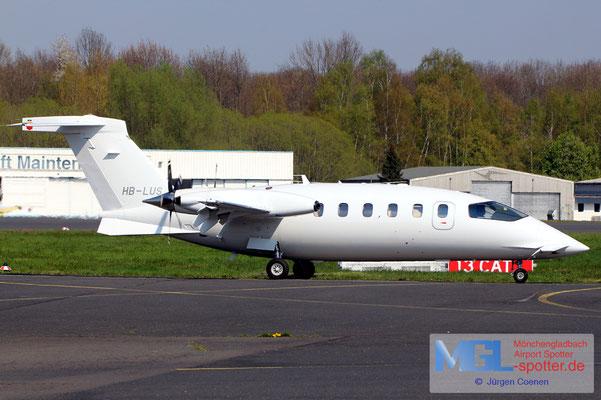 11.04.2019 HB-LUS Piaggio P-180 Avanti