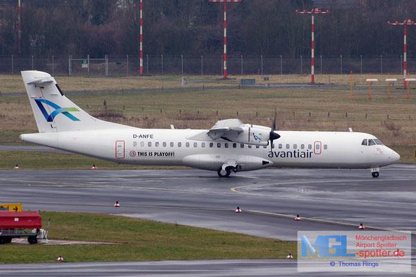 15.03.2015 D-ANFE Avantiair ATR 72-202