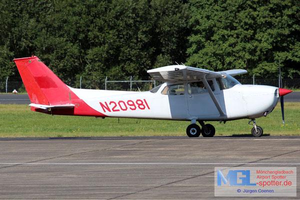09.09.2016 N20981 Cessna 172M
