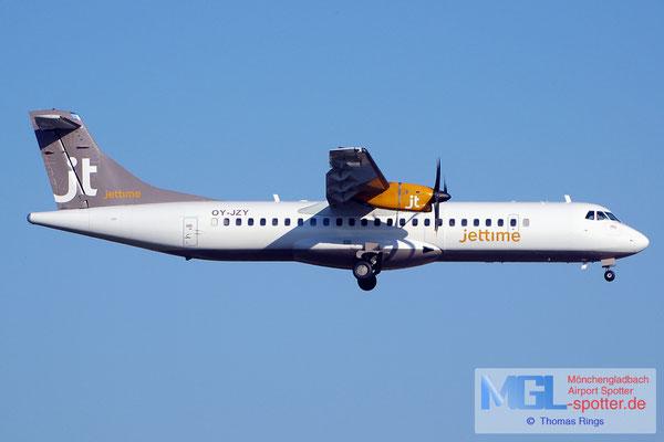 22.07.2014 OY-JZY Jettime ATR 72-500