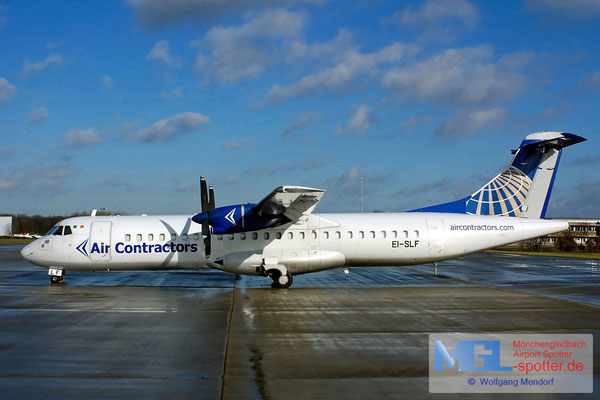 02.02.2008 EI-SLF Air Contractors / Continental ATR 72-201 cn210