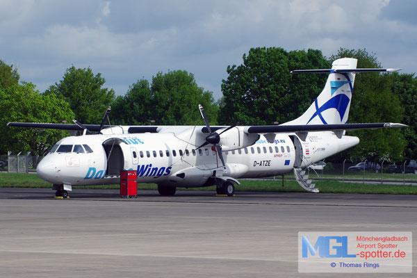 09.05.2015 D-ATZE RAS / Danube Wings ATR 72-102 cn177