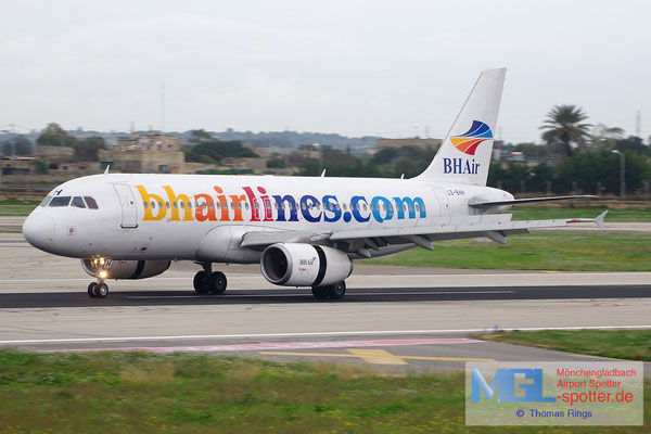 30.12.2013 LZ-BHH BH Airlines A320-232