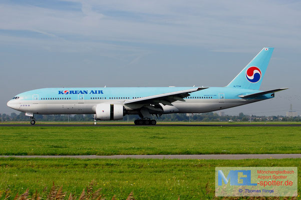 24.09.2011 HL7734 Korean Air B777-2B5ER