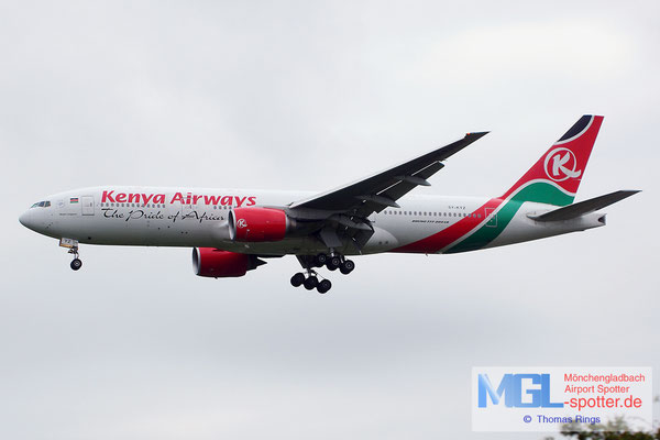 20.06.2014 5Y-KYZ Kenya Airways B777-2U8ER