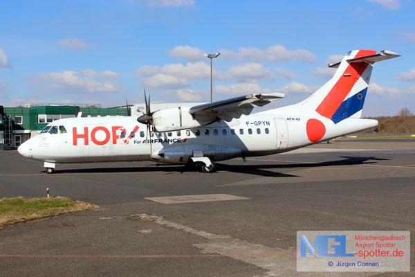 27.02.2018 F-GPYN HOP! ATR 42-500 cn539