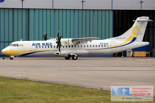 04.09.2016 XY-AJC Air KBZ ATR 72-500 cn541