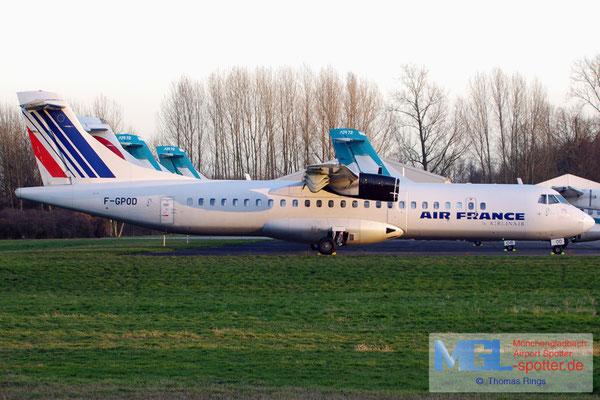 02.02.2014 F-GPOD Airlinair / Air France ATR 72-202QC cn361