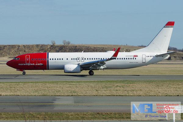 20.04.2013 LN-DYX Norwegian B737-8JP/W
