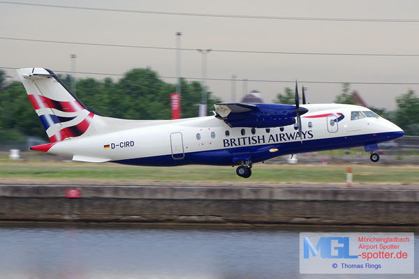 23.06.2014 D-CIRD MHS Aviation / British Airways Do328-110