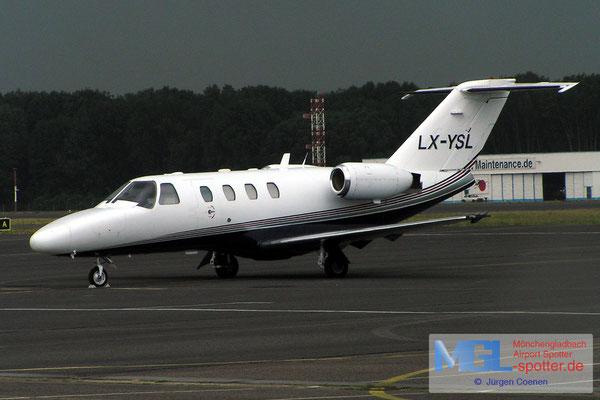 11.07.2006 LX-YSL CESSNA CIT525 CJ