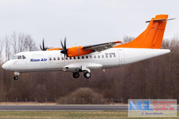 12.03.2021 YA-KMQ Kam Air ATR 42-500 cn576