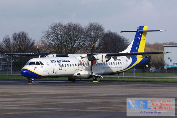 31.01.2015 E7-AAD B&H Airlines ATR 72-212 cn464