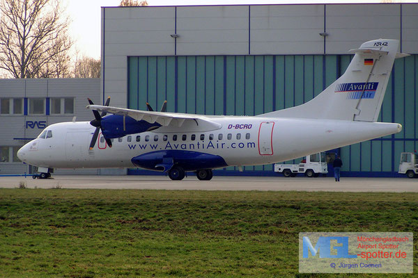 26.11.2004 D-BCRO AVANTI AIR atr42-300