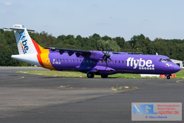 29.07.2019 G-ISLK Blue Islands / Flybe ATR 72-500 cn634