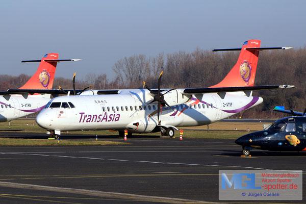 18.02.2019 2-ATRF NAC / Transasia ATR 72-600 cn1251