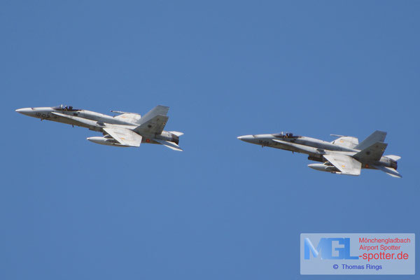 06.04.2015 C.15-44 12-02 & C.15-45 12-03 Spain Air Force EF-18AM Hornet