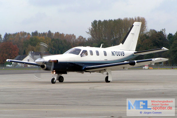26.10.2004 N700VB Socata TBM-700