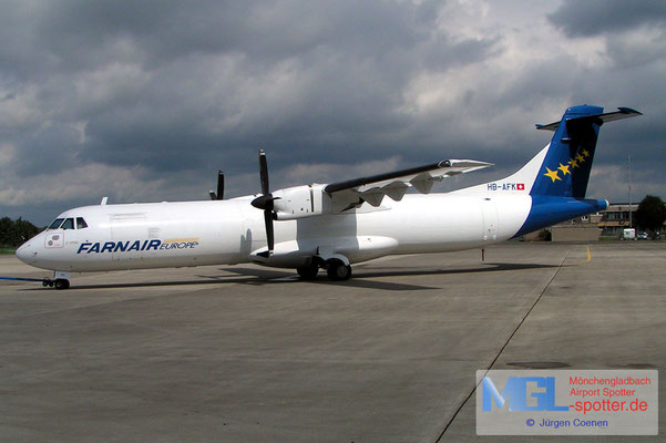 20.08.2006 HB-AFK FARNAIR ATR72F