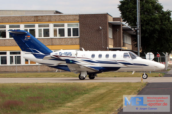 18.06.2018 D-ISIS Cessna 525 Citation M2