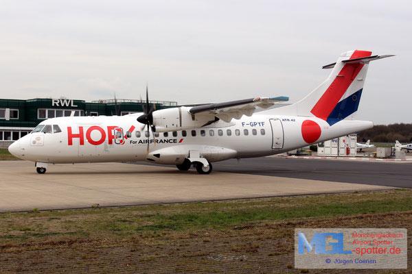 20.03.2019 F-GPYF HOP! ATR 42-500 cn495