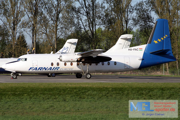 15.04.2007 HA-FAC Farnair Europe Fokker F-27-500