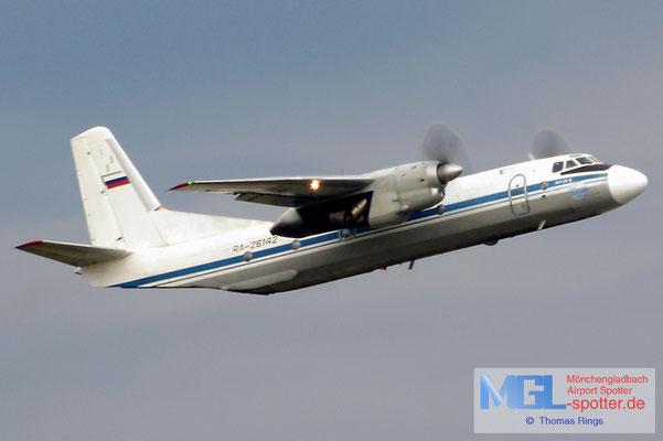 20.08.2014 RA-26142 Pskov Avia An-26B