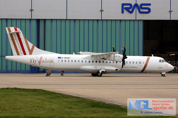 07.11.2017 2-DCBT Elix Aviation Capital / FlyValan ATR 72-500 cn747