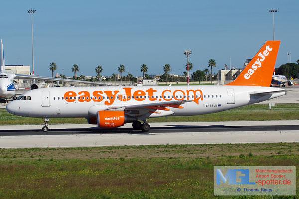 28.12.2013 G-EZUN Easyjet A320-214