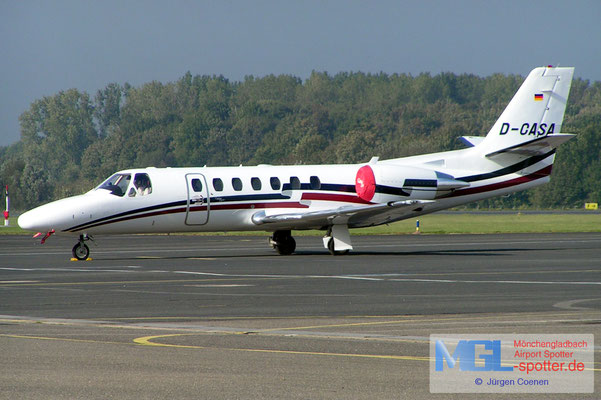 13.10.2004 D-CASA Cessna 560 Citation Encore