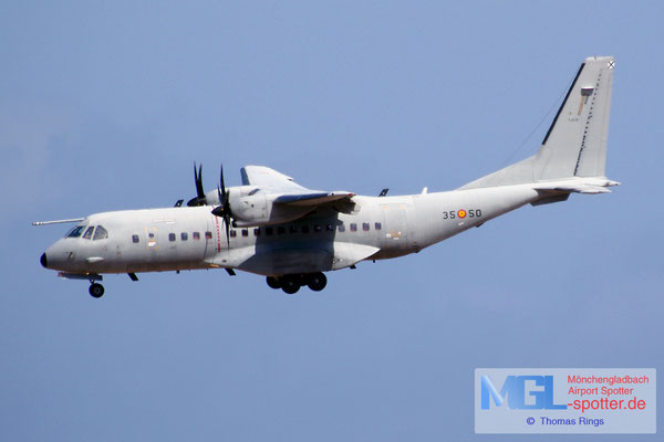 08.07.2014 T.21-12 35-50 Spain Air Force Casa CN-295M