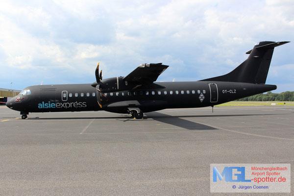 01.08.2016 OY-CLZ AlsieExpress ATR 72-500 cn818
