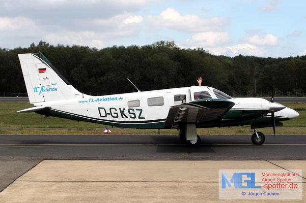 30.08.2020 D-GKSZ PIPER PA-34