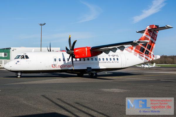 14.03.2020 F-GPYC Loganair ATR 42-500 cn484
