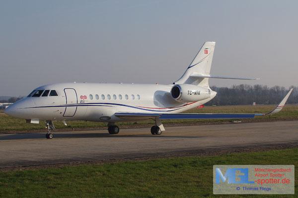 14.03.2014 TC-MRK Dassault Falcon 2000EX