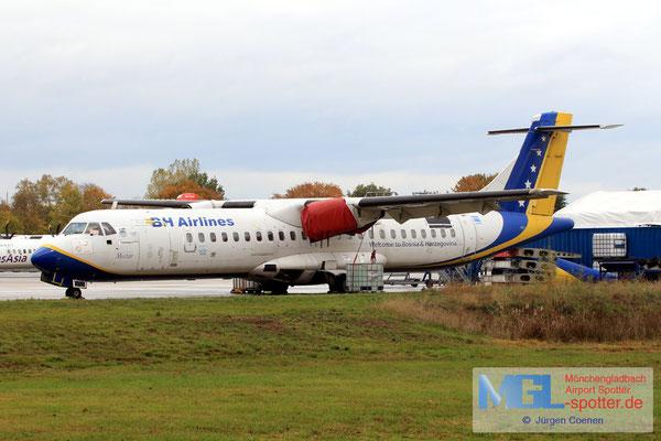 30.10.2018 (E7-AAE) BH Airlines ATR 72-200 cn465