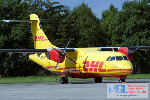 26.12.2015 ZS-OVR Solenta Aviation / DHL ATR 42-300F cn116