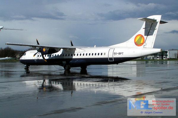03.05.2007 SU-BPT Sun Air ATR 72-212 cn385